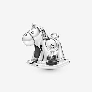 Pandora Bruno the Unicorn Rocking Horse Charm